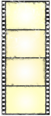 grunge wide screen filmstrip