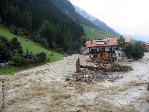 hochwasser in Ischgl