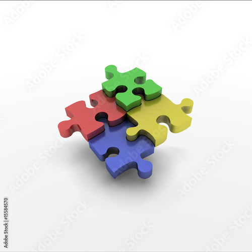 Jigsaw four piece