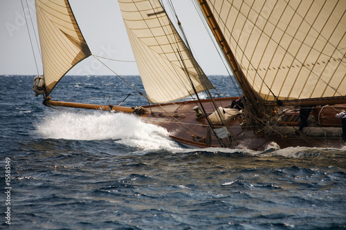 Fototapeta Old sailing boat