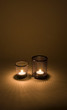 Mesh candle holders