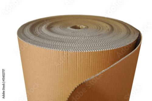 rouleau de carton d 39 emballage de delphotostock photo libre de droits 15602717 sur. Black Bedroom Furniture Sets. Home Design Ideas