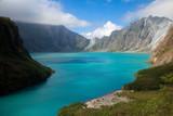 Fototapeta niebieski - skały - Wulkan