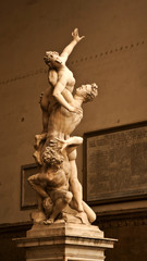famous statue in Florence