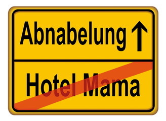 Abnabelung - Hotel Mama