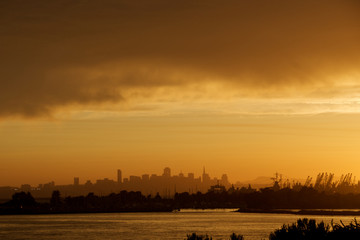 View of San Francisco from Alameda