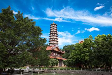 Temple of  Xichan in Fuzhou