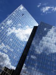 Perspective d'un immeuble d'affaires