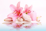Fototapeta kwiat - świeca - Kwiat