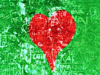 amour et graffiti