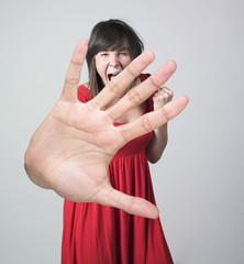 femme grande main réussite