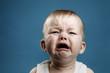 Leinwanddruck Bild - Baby crying