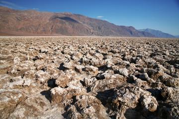 Devil's Golf Course - Death Valley national park, California, US