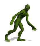 Lurking Swamp Creature poster