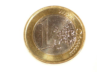 1 Euro, Cent, Euro, Finanzen, Krise, Banken