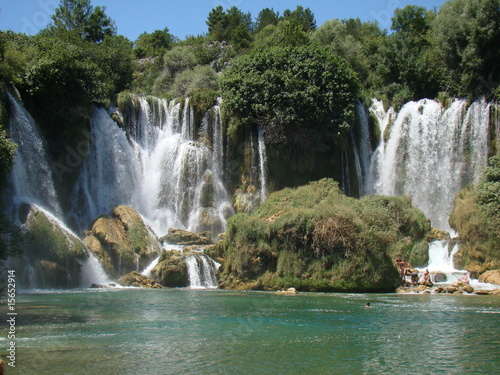 Waterfall Kravice BiH