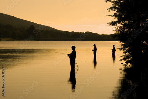 Fishermen at Sunrise