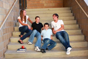 Teens Socializing