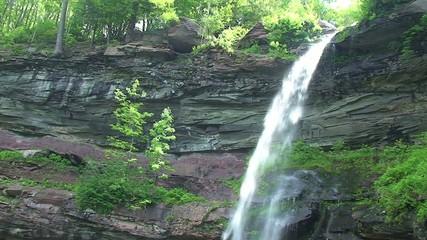 Kaaterskill Falls Waterfall in Catskill Mountains