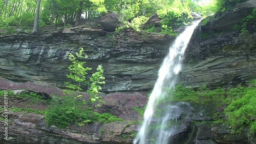 Kaaterskill Falls Waterfall in Catskill Mountains