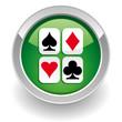 Poker button