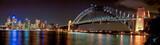 Australien Sydney Nightshot