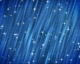 PAL. Stars on blue background. poster