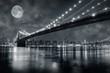 canvas print picture Brooklyn Bridge