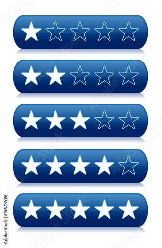 Rating System Review Stars