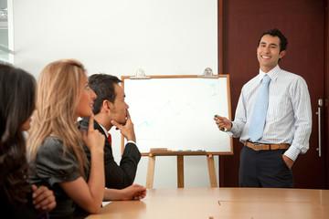 Corporate meetin