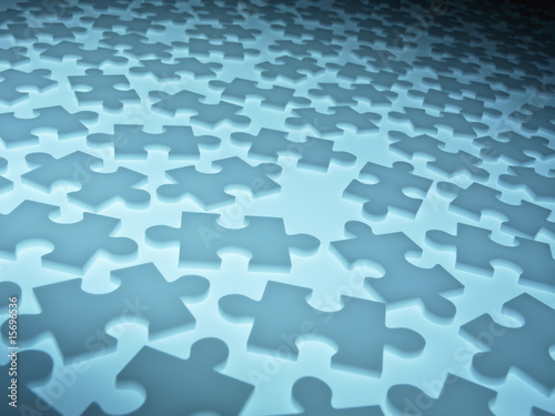 Symbolic puzzle pieces