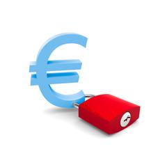 Euro lucchetto