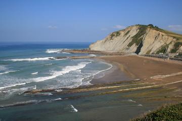Erosión en la costa