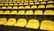 Leinwanddruck Bild - stadion sitzreihe