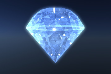 Illustration of a Shiny Diamond