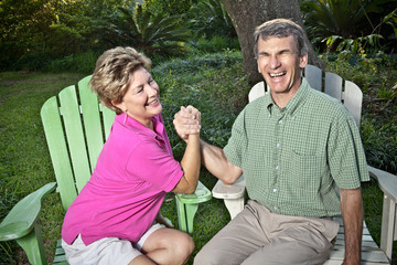 Arm Wrestling, Married-Style