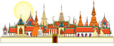 Bangkok royal palace