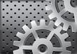 Vector metal gears