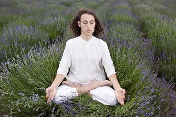 meditation of lavender