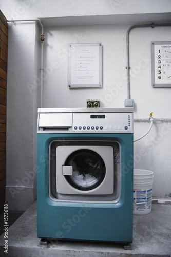 Industrial dryer indoors