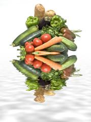 Verdura fresca.