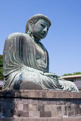 Buddha statue (Daibutsu) in Kamakura, Japan