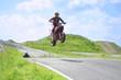 ������, ������: wemsen mit Supermoto auf Kartbahn