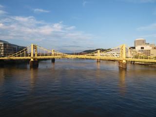 Pittsburgh bridges daytime.