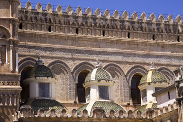Cathedral of Palermo build in various styles