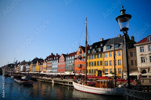 Leinwanddruck Bild Nyhavn, Copenhagen