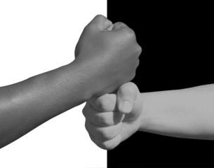 Symbolik in schwarz-weiß