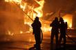 Leinwanddruck Bild - Feuerwehr