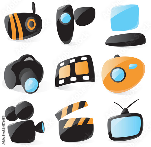 poster of Smooth media device icons