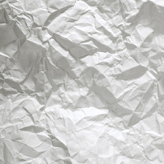 crushed paper close up background